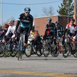 The start of Zanesfield Road Race