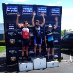 Headwind Cycling's Neil Wengerd on the podium