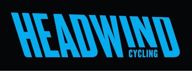 Headwind Cylcling Logo in Blue