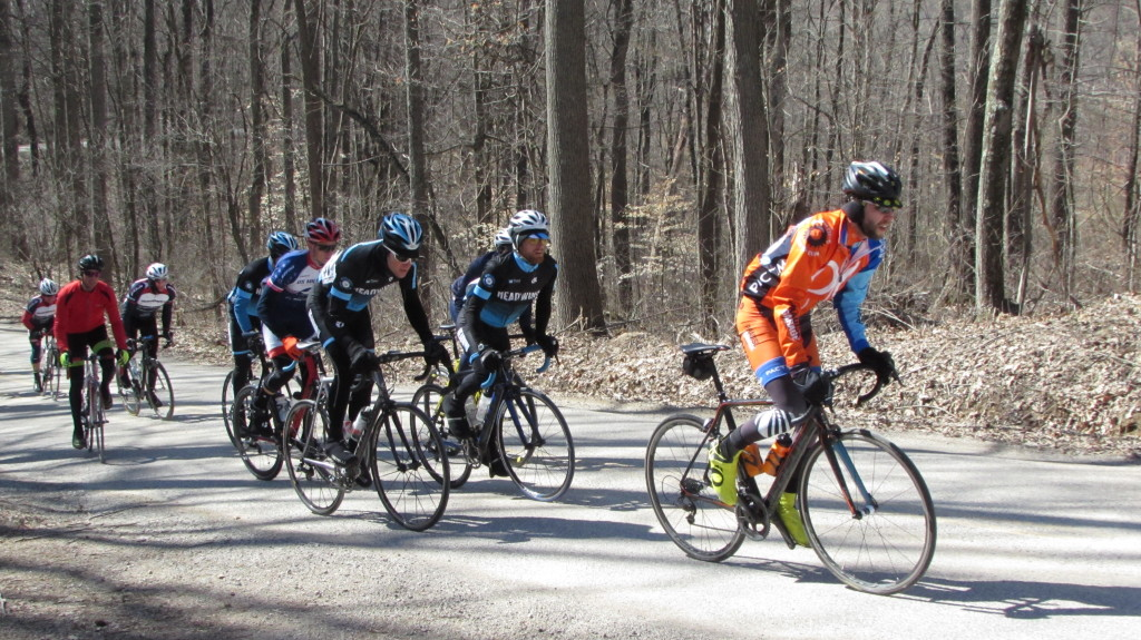 Headwind Cycling at Lake Hope Road Race